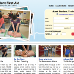 Student FIrst Aid website